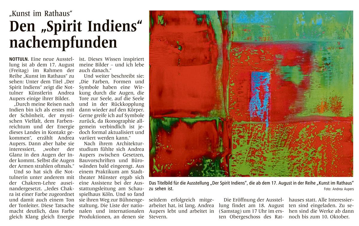 Artikel Spirit Indiens